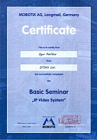 BASIC SEMINAR IP video system